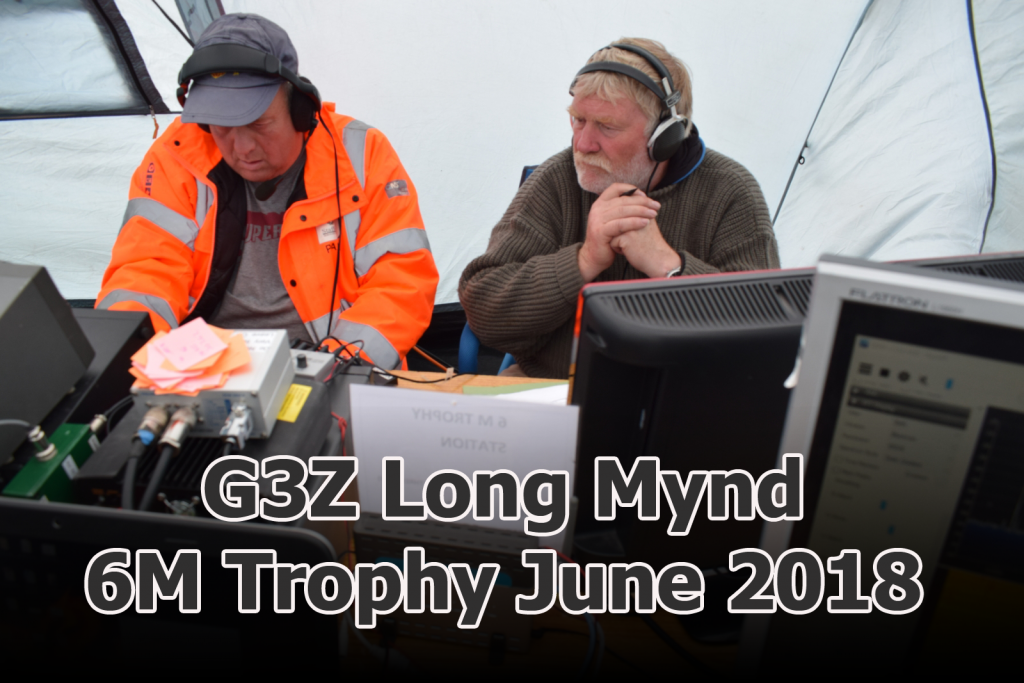 Paul M0PNN and Simon G0UFE on the TDARS G3Z station on top of Long Mynd in the 2018 6m Trophy contest. | Telford and District Amateur radio society | amateur radio courses