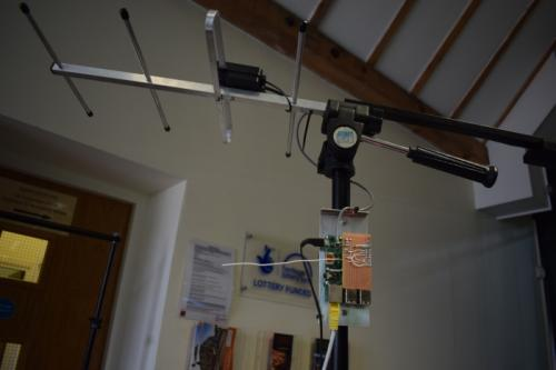 Heathers balloon tracking antenna
